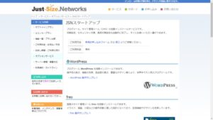Just-Size_Networks_startup